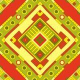 Etnisch patroon Stammen art Afrikaans patroon vector illustratie