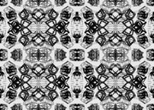 Etnisch patroon Waterverf geometrisch naadloos patroon stock illustratie