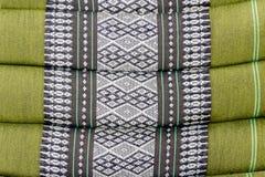 Etnisch sier textiel geometrisch motievenpatroon stock foto
