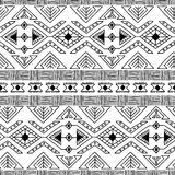 Etnisch sier textiel naadloos patroon Stock Foto's