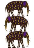 Etnisch symbool Royalty-vrije Stock Foto's