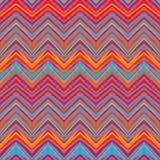 Etnisch zigzagpatroon, Azteekse stijl naadloze achtergrond Royalty-vrije Stock Foto