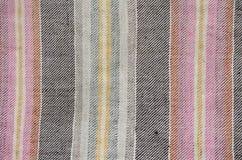 Etnische Homespun Textielachtergrond Stock Foto's