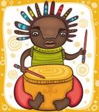 Etnische jongen royalty-vrije illustratie
