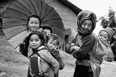 Etnische minderheid stock foto's