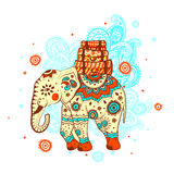 Etnische olifant Royalty-vrije Stock Foto's