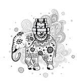 Etnische olifant Stock Fotografie