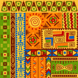 Etnische patronen Royalty-vrije Stock Afbeelding