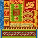 Etnische patronen Stock Fotografie