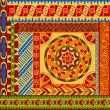 Etnische patronen Stock Afbeeldingen