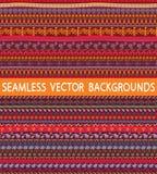 Etnische patronen Royalty-vrije Stock Afbeeldingen