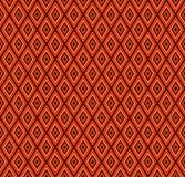 Etnische patronen in de vorm van multi-colored ruit Vector naad Royalty-vrije Stock Fotografie
