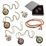 Etnische Reeks Jewelery stock foto