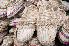 etnische schoenen royalty-vrije stock foto's