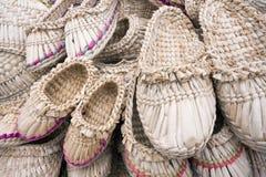 Etnische schoenen stock afbeelding