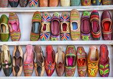 Etnische schoenen royalty-vrije stock afbeeldingen