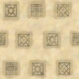 Etnische Vierkanten Royalty-vrije Illustratie