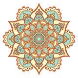 Etnisk dekorativ mandala Royaltyfri Fotografi