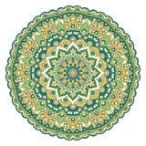 Etnisk dekorativ mandala Royaltyfria Foton