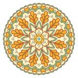 Etnisk dekorativ mandala Fotografering för Bildbyråer