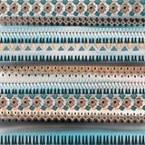 Etnisk design för vattenfärg Royaltyfria Foton