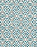Etnisk design för vattenfärg Royaltyfri Foto
