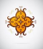 Etnisk designbeståndsdel Royaltyfria Bilder