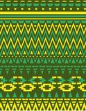etnisk designvektorkonst Royaltyfri Bild