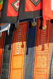 Etnisk dräkt för detalj Arkivfoto