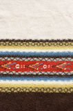 etnisk filt Arkivfoto