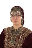 etnisk flicka Royaltyfria Bilder