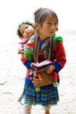 etnisk flicka Arkivbild