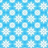 Etnisk indigoblå sömlös tegelplattabakgrund Arkivfoto