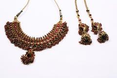 etnisk jeweleryset Royaltyfri Foto