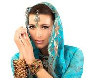 etnisk kvinna Royaltyfri Foto