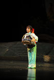 Etnisk minoritetJiangxi opera en besman Royaltyfri Foto