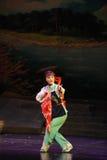 Etnisk minoritetJiangxi opera en besman Royaltyfria Foton