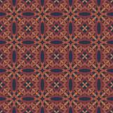 Etnisk modern geometrisk seamless modellprydnad Arkivbilder
