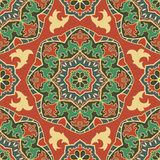 Etnisk orientalisk prydnad Arkivbild
