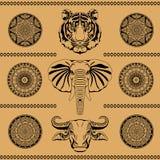 etnisk prydnad Royaltyfri Fotografi