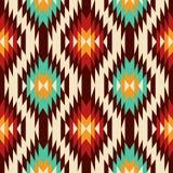 etnisk prydnad Navajomodell stock illustrationer
