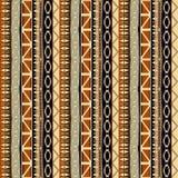 Etnisk sömlös afrikansk modell Arkivbild