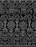 Etnisk sömlös bandmodell Vektorillustration för din gulliga design royaltyfri illustrationer