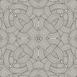 Etnisk sömlös design för modellprydnadtryck Royaltyfri Fotografi