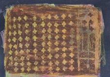 Etnisk stam- dekorativ modell Arkivfoton