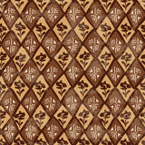 Etnisk stam- geometrisk sömlös modell Arkivfoton