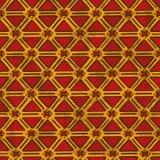 Etnisk stam- geometrisk sömlös modell Royaltyfri Bild