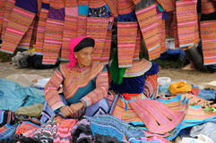 Etniskt folk i Vietnam Royaltyfri Bild
