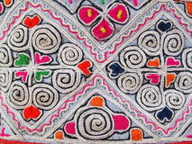 Etniskt hantverk Arkivbild