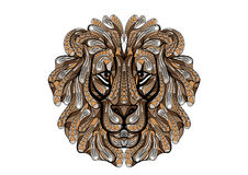 Etniskt lejon Arkivbild